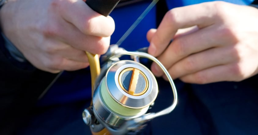 Spinning Reel Line Recovery Rate